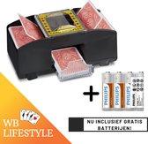 Automatische Kaartenschudmachine | Inclusief Gratis batterijen! | Kaartenschudder | Card Schuffler | Kaarten | Poker | Blackjack