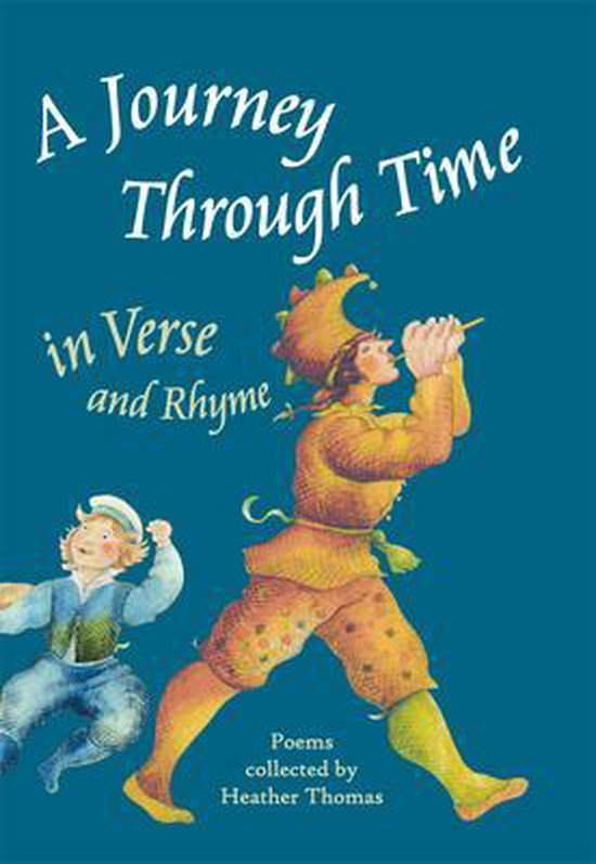 Boek cover A Journey Through Time in Verse and Rhyme van Heather Thomas (Hardcover)