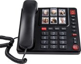 Fysic FX-3930 Senioren Foto Telefoon - 6 Fototoetsen, handenvrij telefoneren en luid belvolume