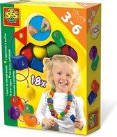 SES Ik Leer Rijgen - Hobbypakket - Kinderen