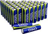 CHiQ AA Batterijen - 40 stuks - Gaat 70% langer mee - 10 jaar houdbaar - Type AA / LR6, 1,5 V, Alkaline
