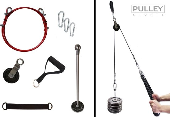 Pulley Sports - Fitness kabelsysteem - katrol fitness - Kabelmachine voor thuis