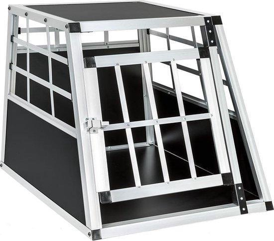 Topmast Autobench - Hondenbench - Vervoersbox Aluminium 69 x 54 x 50 cm