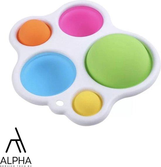 Simple Dimple fidget toy - Bekend van TikTok - - Merkloos