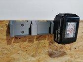 Makita accu houder voor 3 accu's / battery mount 18V