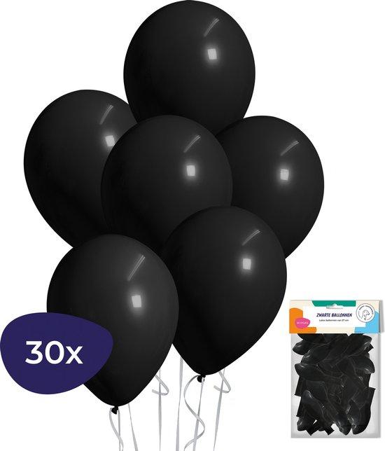Zwarte Ballonnen – Helium Ballonnen – Halloween Decoratie – Verjaardag Versiering – 30 stuks
