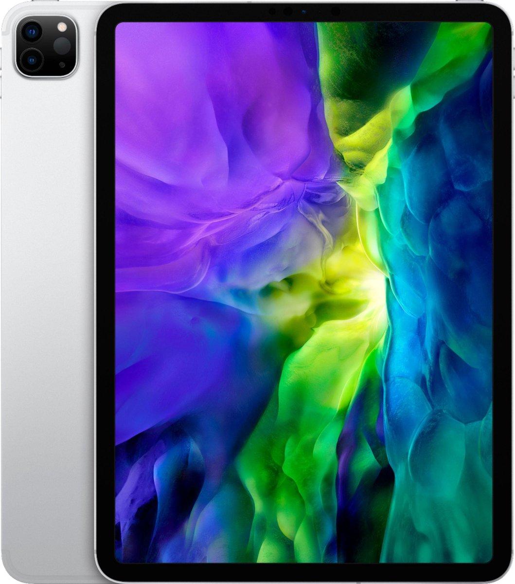 """Apple iPad Pro 11 """" (2020) 4e Generatie - Gerenoveerd door SUPREME MOBILE - A GRADE - 256 GB - Alleen wifi - Zilver"""