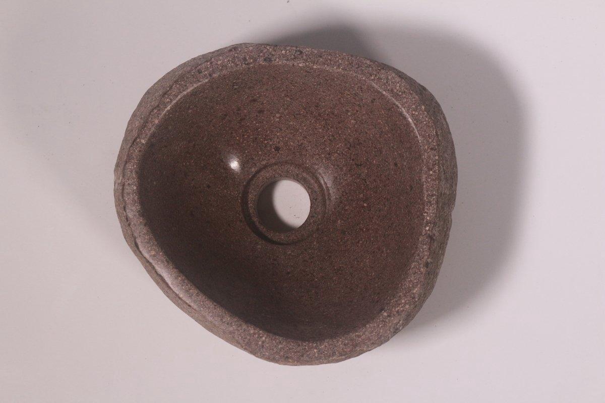 Natuurstenen waskom | DEVI-W21-285 | 25x23x12
