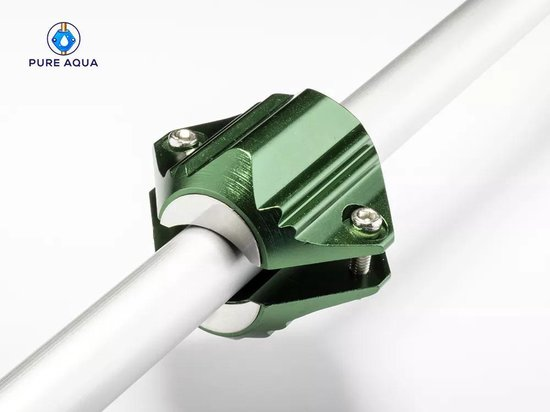 Pure Aqua Waterontharder magneet - Magnetische waterontharder - Waterontkalker - Waterontharder waterleiding - Antikalk - Magneet - Waterverzachter - Metallic Green