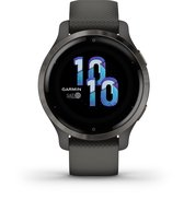 Garmin Venu 2s - Health smartwatch - Grey/Gunmetal