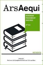 Ars Aequi Wetseditie  -   Burgerlijk procesrecht 2021/2022