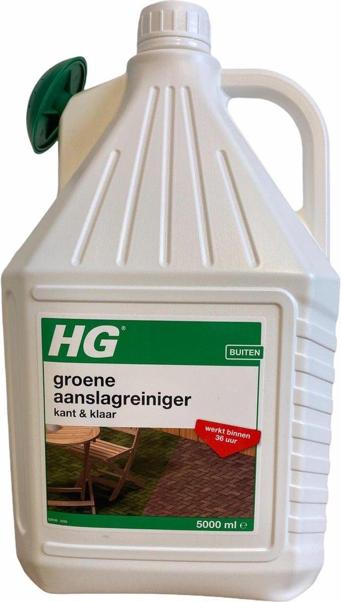 HG Groene aanslagreiniger kant & klaar - 5 L