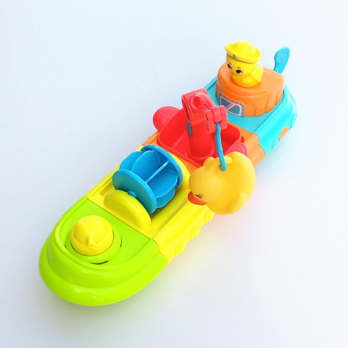 Jobber Waterplay Badspeelgoed - Werk Schip - Assemblage Bad Boot
