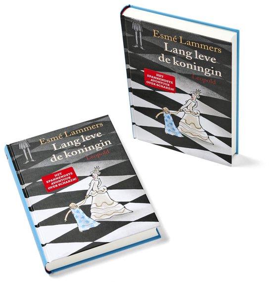 Boek cover Lang leve de koningin van Esmé Lammers (Hardcover)