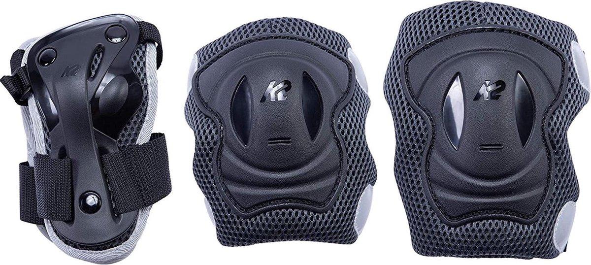 K2 Valbescherming setMannen - zwart/wit