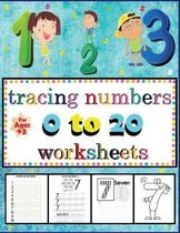 tracing numbers 0 to 20 worksheets