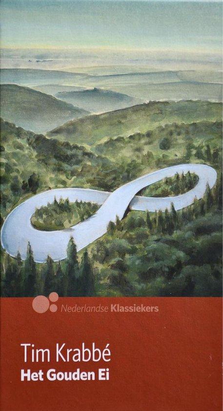 Boek cover Het gouden ei - AD Nederlandse klassiekers van Tim Krabbé (Hardcover)