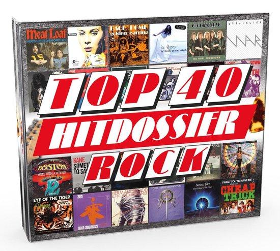 CD cover van Top 40 Hitdossier - Rock van Top 40