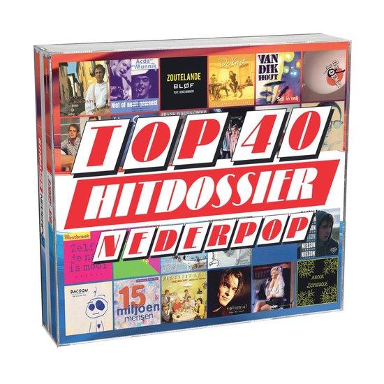 CD cover van Top 40 Hitdossier - Nederpop van Top 40