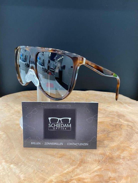 Celine zonnebril-Bruin-Grijs gradiënt-62 mm