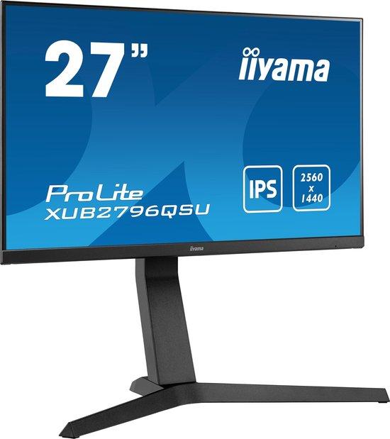 iiyama ProLite XUB2796QSU-B1 - QHD IPS Monitor - 75hz - 1ms - 27 inch