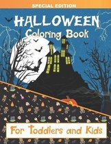Halloween Coloring Book for Toddlers and Kids