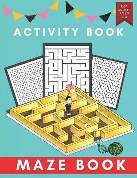 activity maze book: mazes Activity Book