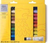 Winsor & Newton Galeria Acrylic Colour 20x12ml Beginners set