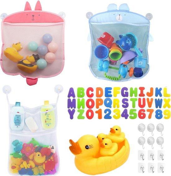 Allerion Bad Organizer - Badspeelgoed Baby - 3 verschillende modellen – Opbergtas – Inclusief speelgoed