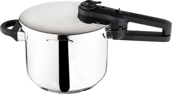 Zilan - Snelkookpan - 6 Liter - geschikt voor alle warmtebronnen ook inductie - pressure cooker