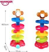 Ballentoren - Ballenbaan peuter- Ballenbaan baby-  peuter speelgoed - baby speelgoed-speelgoed meisje- speelgoed jongen- kinder speelgoed- speelgoed 1 jaar- speelgoed 2 jaar -