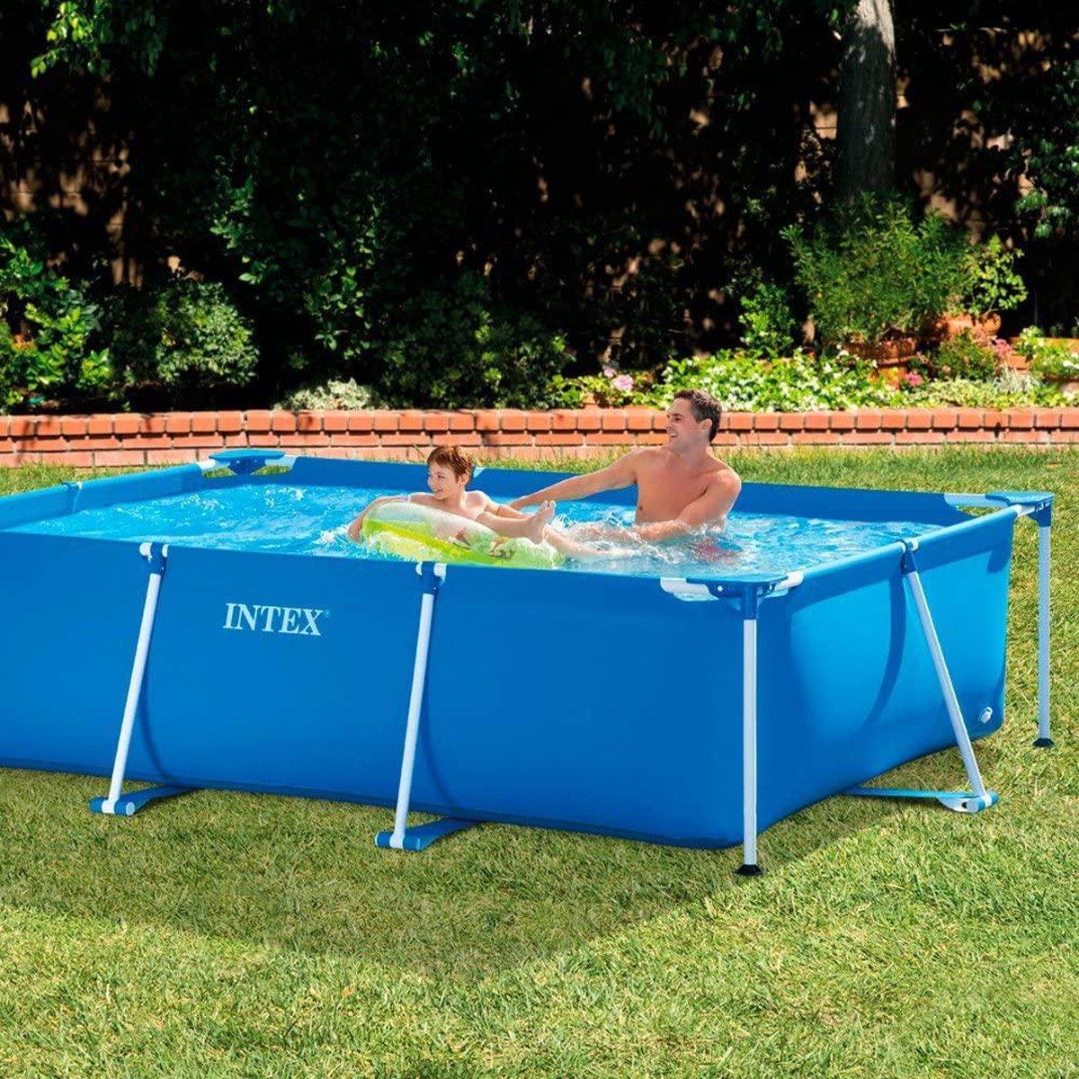 Intex Rectangular Frame Pool - bovengronds zwembad - 300 x 200 x 75 cm