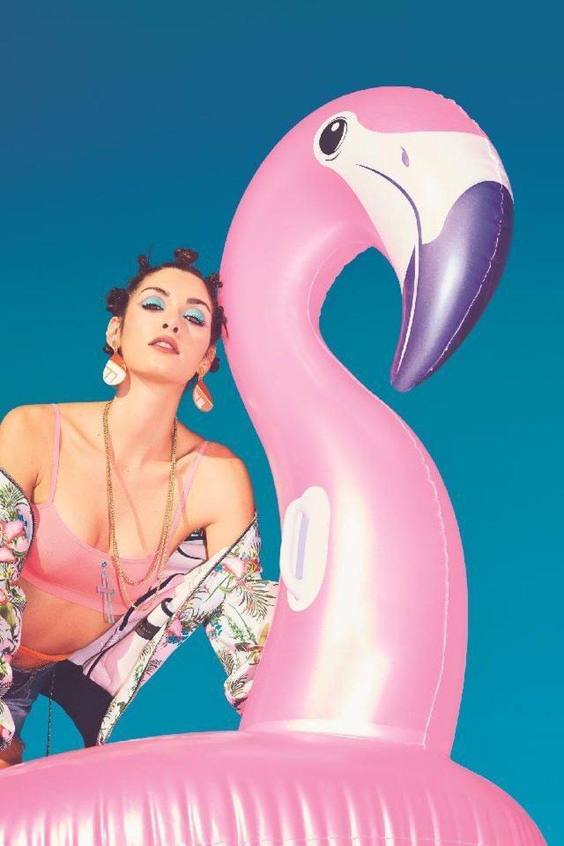 Flamingo Opblaasbaar XXL Roze - Zwembad - Zomer - Opblaasdier - Luchtkussen flamingo - Opblaasbare Flamingo Roze XXL