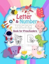 Letter & Number Tracing Book for Preschoolers