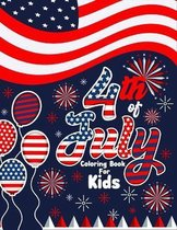 4th of July Coloring Book for Kids