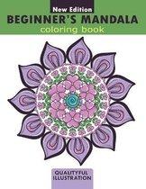 Beginners Mandala coloring book