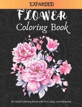 Expanded Flower Coloring Book