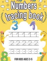 Numbers tracing book
