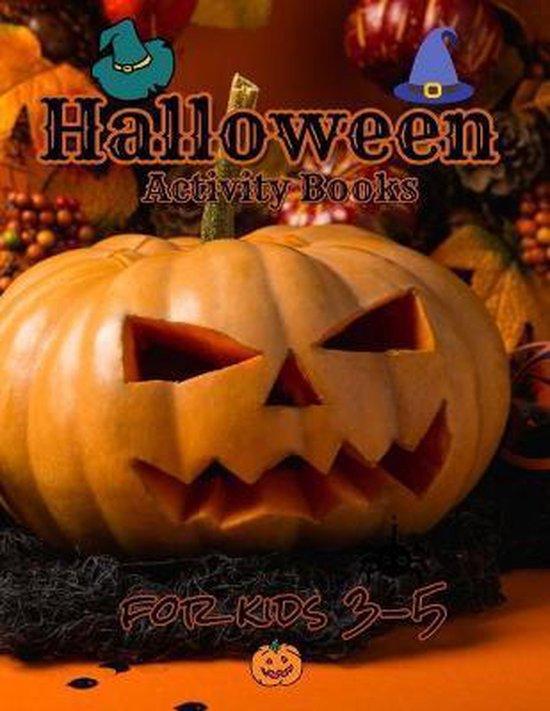 Halloween activity books for kids 3-5