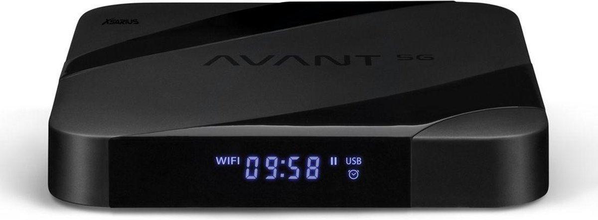 Xsarius Avant 5G – IPTV – OTT – 4K UHD – Android 7.1 – H.265 HEVC