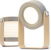 LumiMe Original Marka Tafellamp - 60 UUR Draadloos en Uitklapbaar tot Bureaulamp, Nachtlampje of Leeslampje - LED Binnen en Buitenlamp - Dimbaar met Sensor (Grijs)