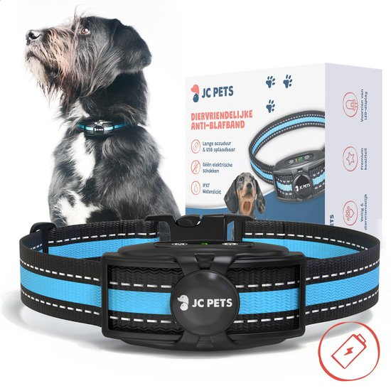 Anti Blafband - Blafband Voor Honden - Oplaadbaar - Anti Blaf Apparaat - Blafband - Diervriendelijk