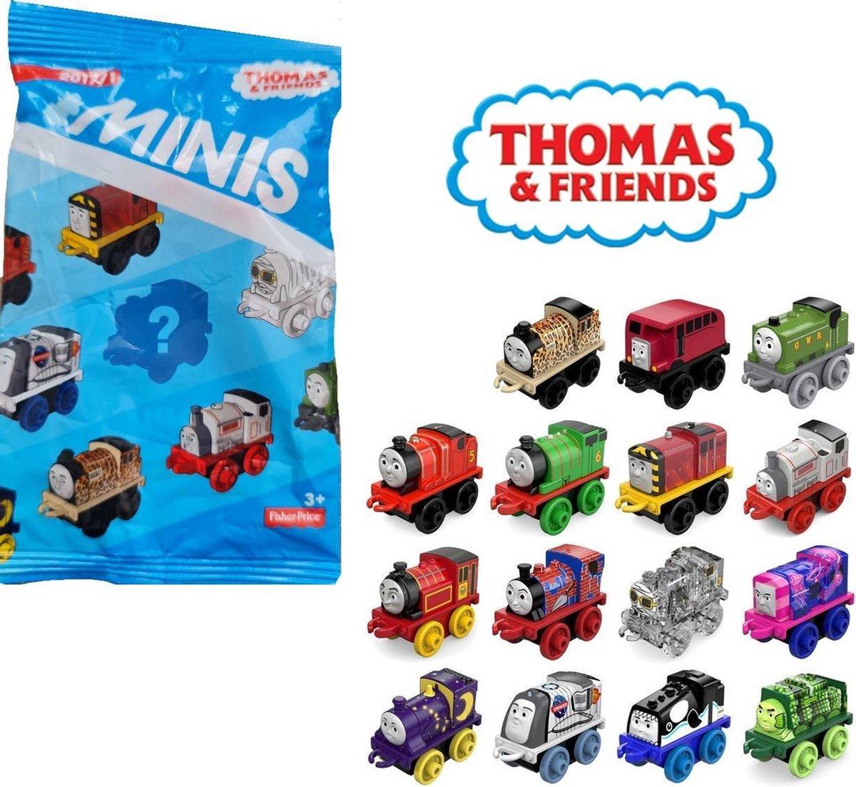 Thomas De Trein Friends Mini figuurtje - Serie 2017 - 1 zakje - 1 figuurtje - 4.5 cm groot
