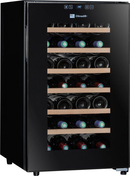 Climadiff CC28 - Wijnklimaatkast - Hybrid - 28 flessen