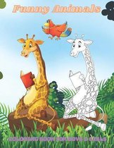 Funny Animals - Coloring Book For Boys & Girls
