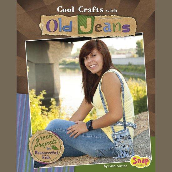 Boek cover Cool Crafts with Old Jeans van Carol Sirrine (Onbekend)