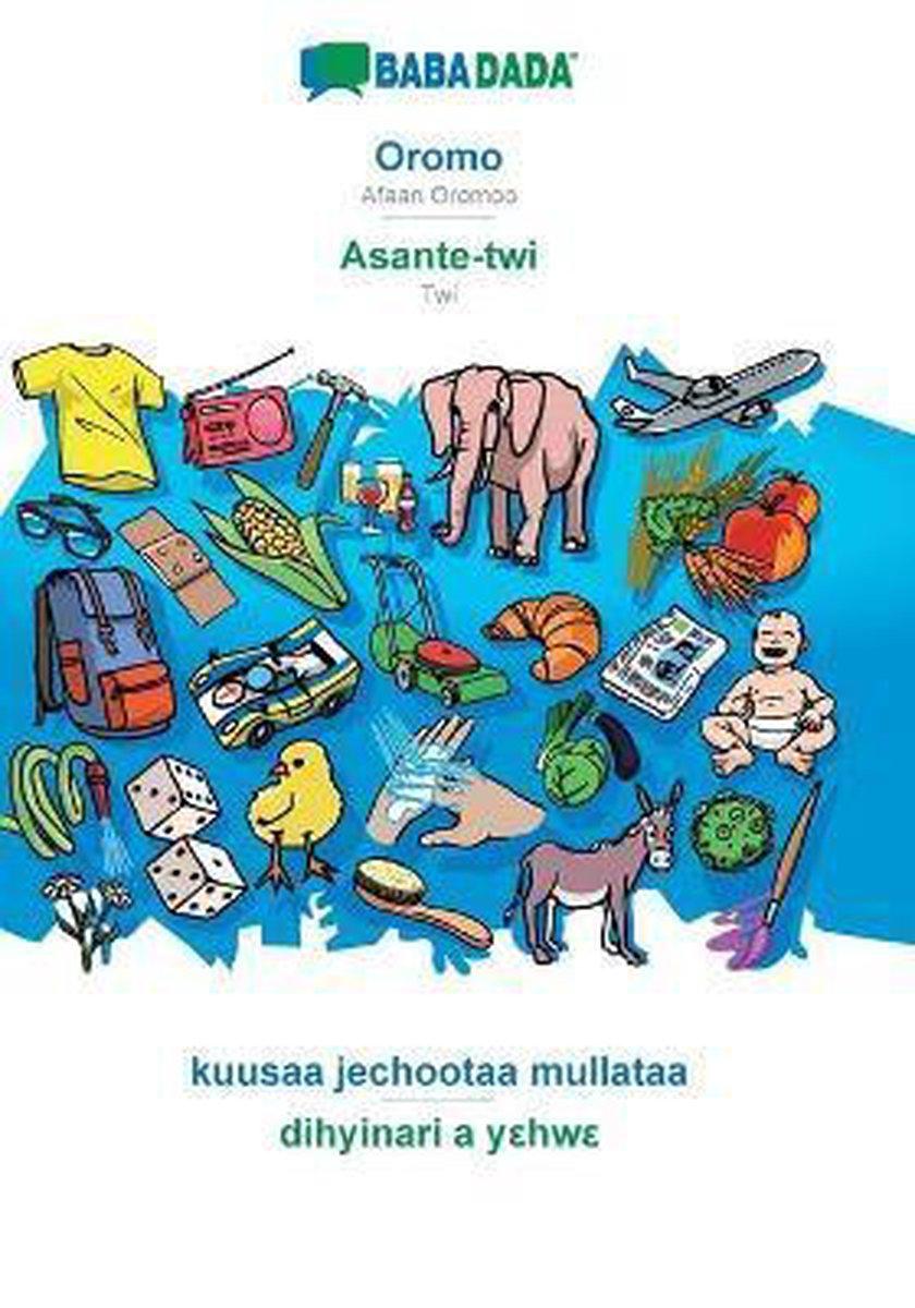 BABADADA, Oromo - Asante-twi, kuusaa jechootaa mullataa - dihyinari a y hw