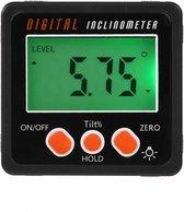 Somstyle Digitale Hoekmeter - Inclinometer - Meetbereik 0 tot 360 graden - Goniometer