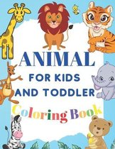 Coloring Book Animal For Kids and Toddler
