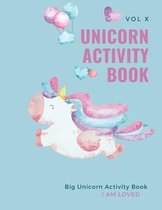 Unicorn Activity Book: Big Unicorn Activity Book for Kids